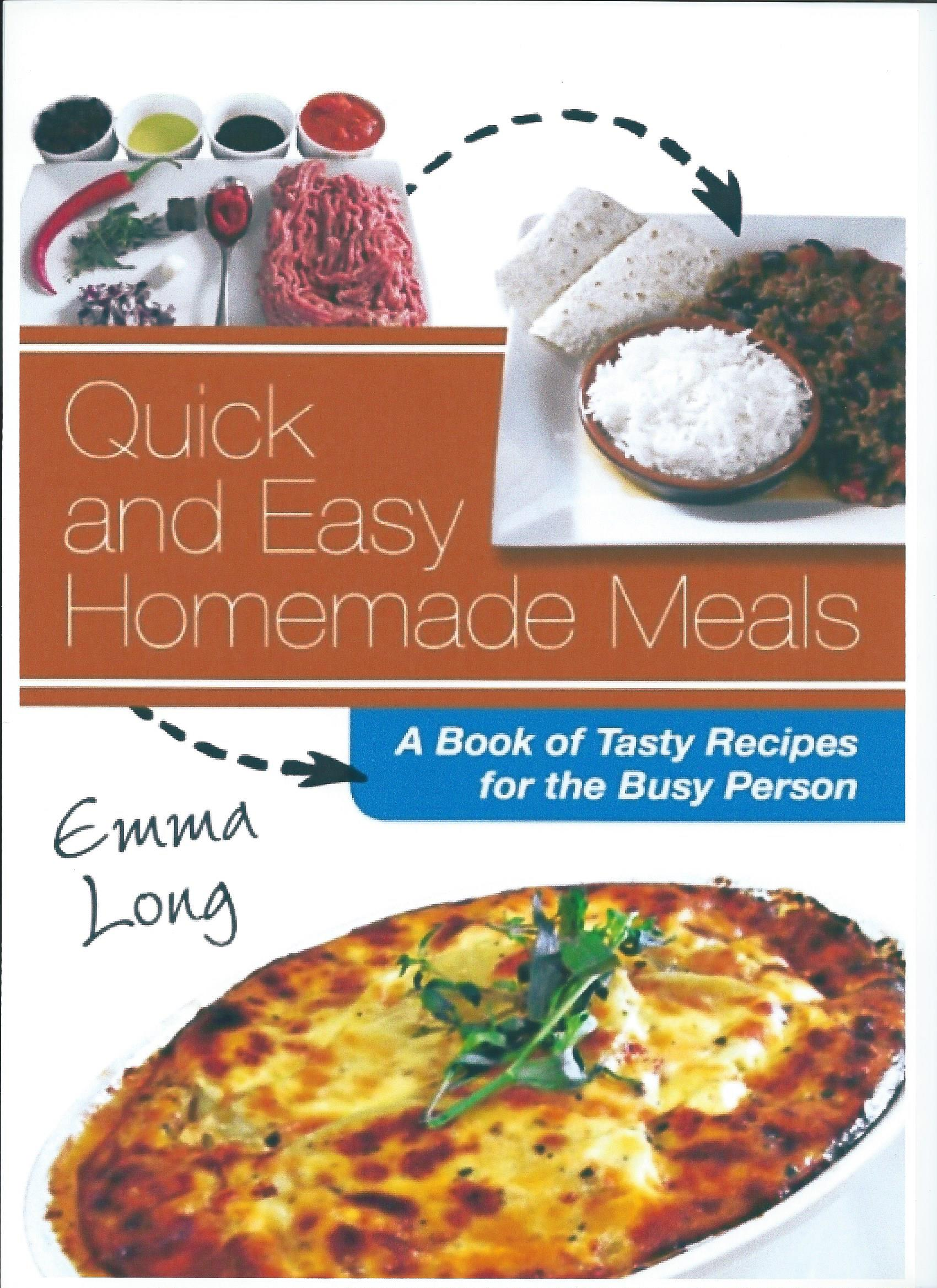 Author an authors view quick easy homemade meals book cover forumfinder Gallery